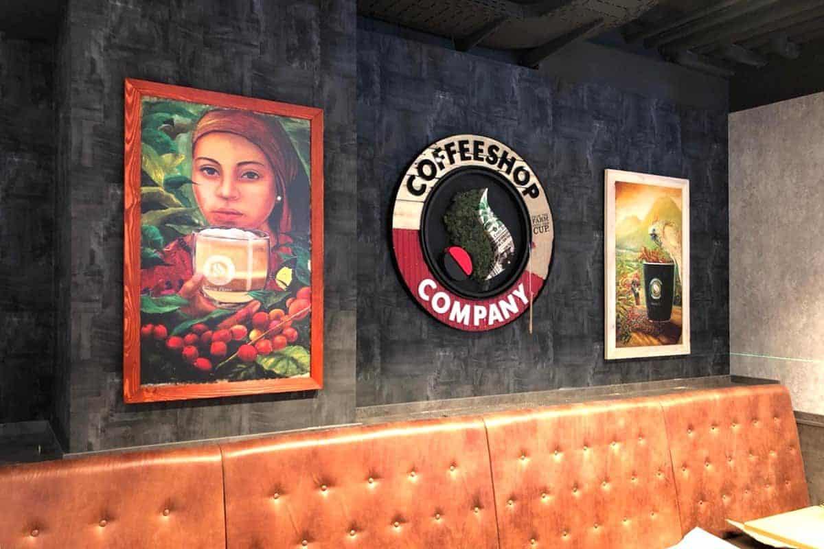 Digitaldruck mit individuellen Bilderrahmen, coffeeshop company gropius passagen