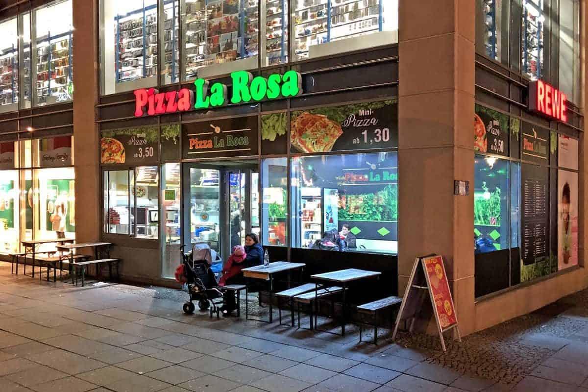 Facelift Pizza La Rosa