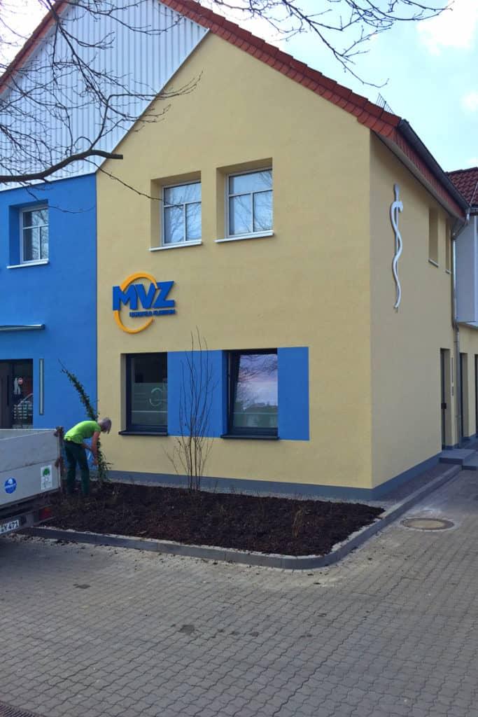 Fräsbuchstaben MVZ Dingelstädt