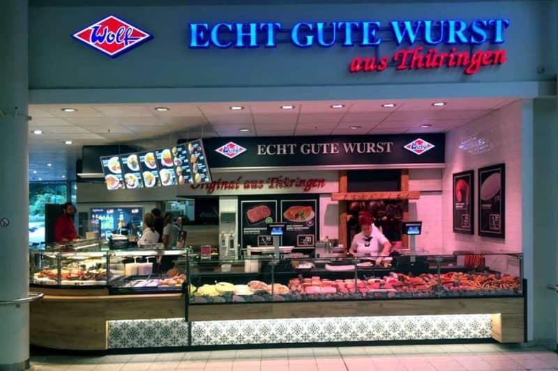 Lichtwerbung Wolf Magdeburg Allee Center