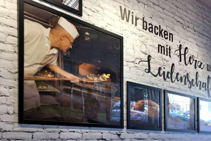 Interieur Wandgestaltung Der Bäcker Feihl Biesdorfcenter