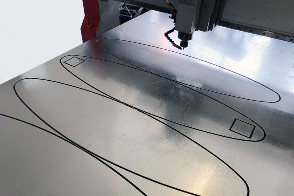 CNC-Fräsen von Aluminium