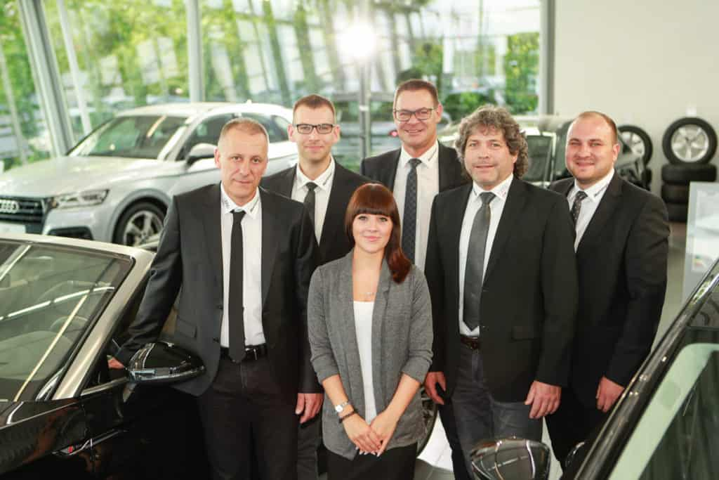 Fotografie Autohaus VW Albertsmeyer Nordhausen Gruppenbild