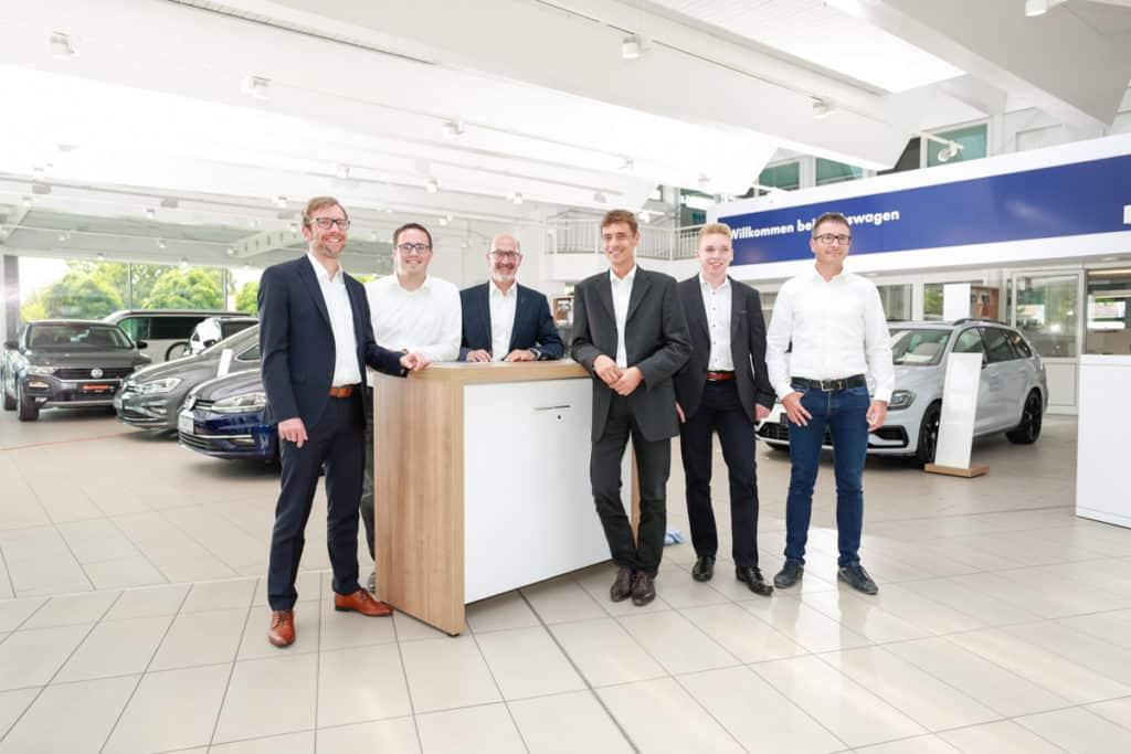 Fotografie Autohaus VW Albertsmeyer Leinefelde Gruppenbild