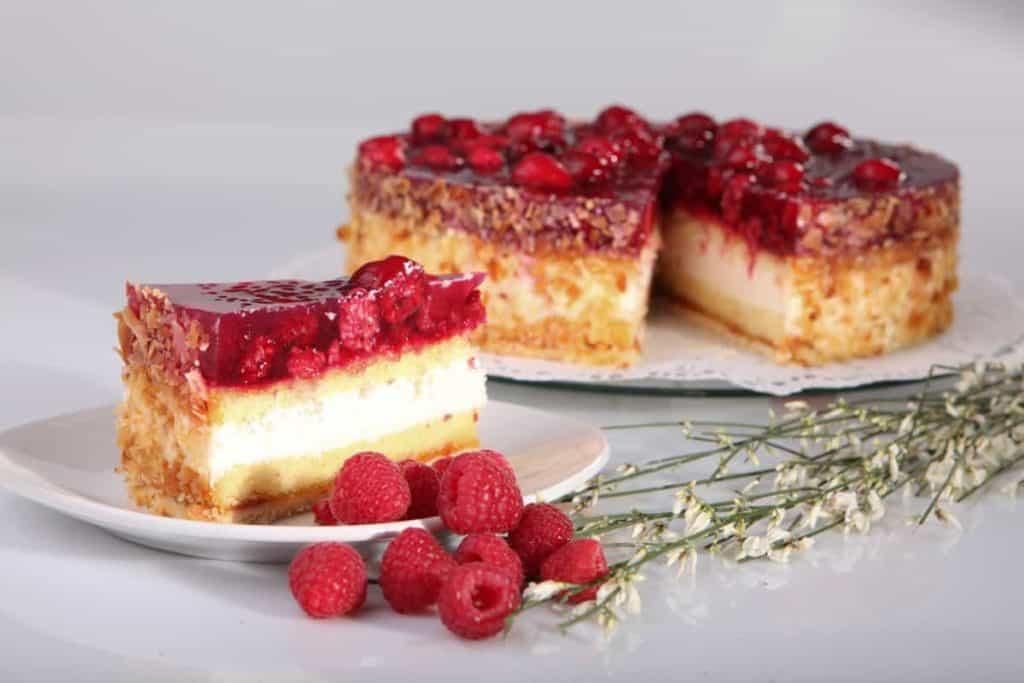Produktfotografie Kuchen Himbeer Fotografie Bäckerei Exner