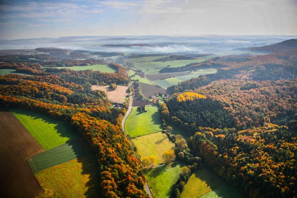 Fotografie Luftaufnahme Eichsfeld 6