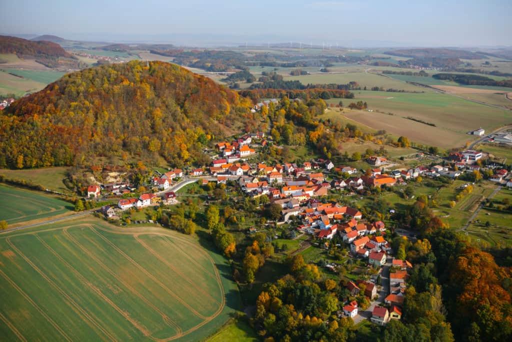 Fotografie Luftaufnahme Eichsfeld 5