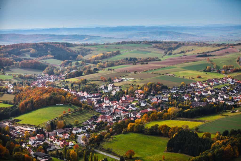 Fotografie Luftaufnahme Eichsfeld 2