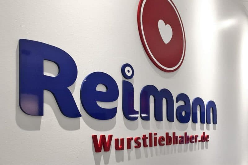 Fräsbuchstaben Reimann Wurstliebhaber Beuren