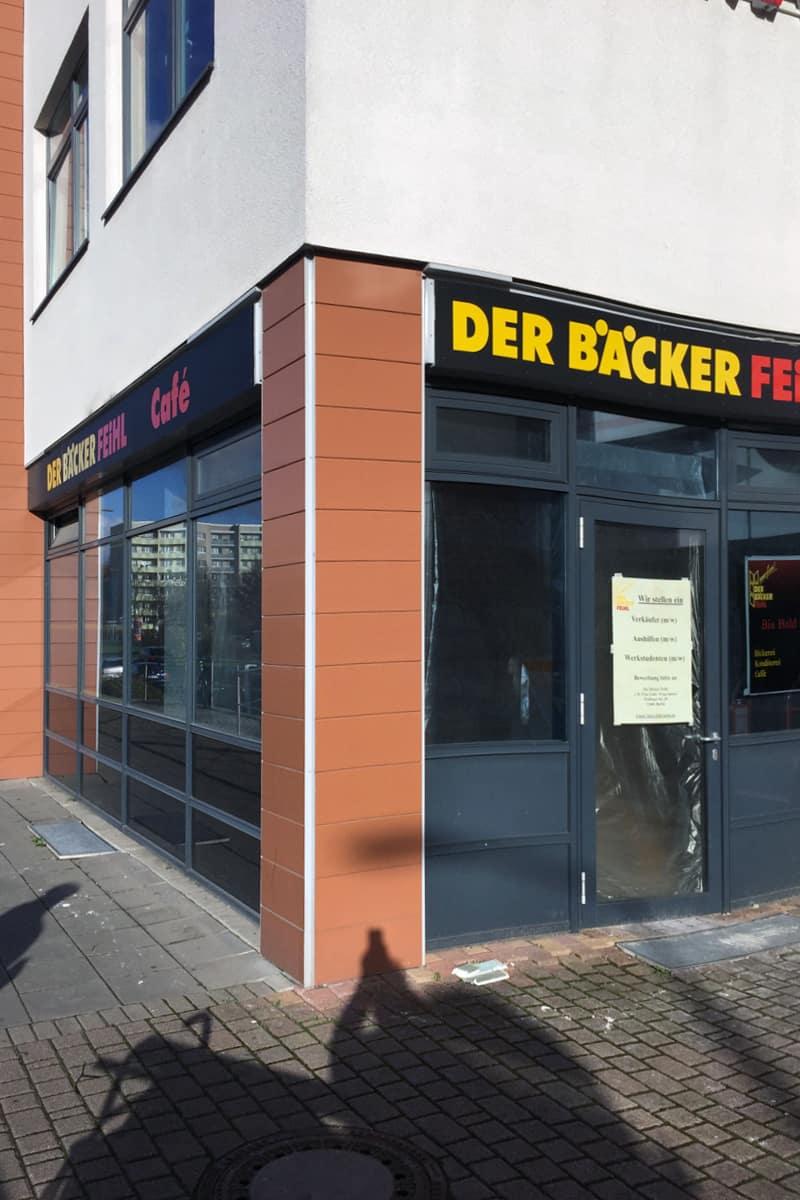 Leuchtbuchstaben für Der Bäcker Feihl in Berlin Marzahn