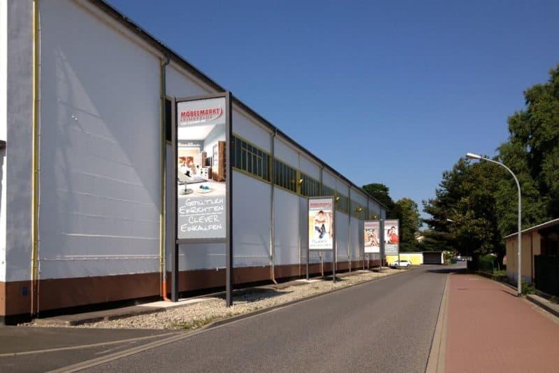 Großformatdruck Möbelhaus