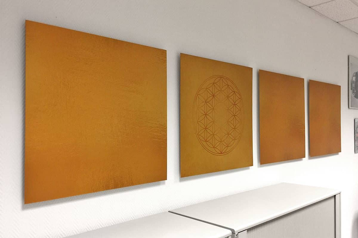 Interieur Wandgestaltung Feng Shui, Nicole Morenstern, Wandgestaltung