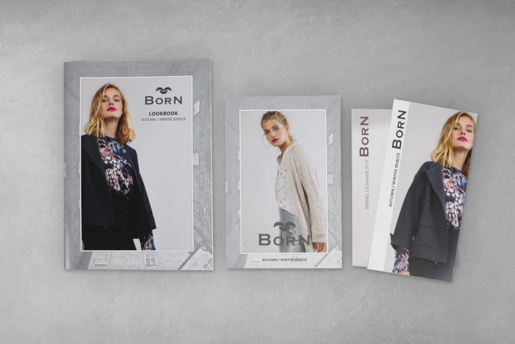 Layout Broschüre, Folder, Postkarten Born GmbH 1