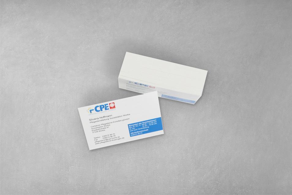 Layout CPE Visitenkarten