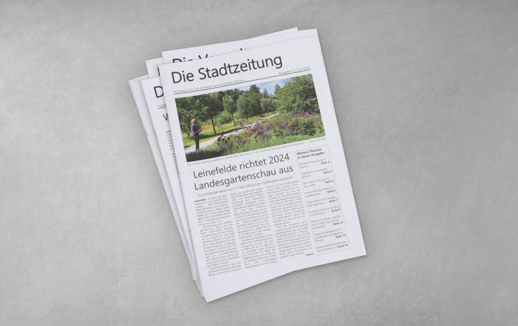 Druck Die Stadtzeitung