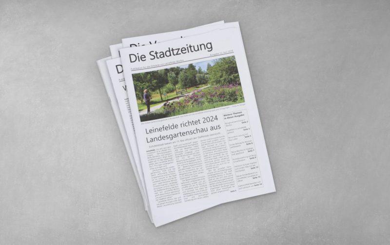 """Druck """"Die Stadtzeitung"""""""
