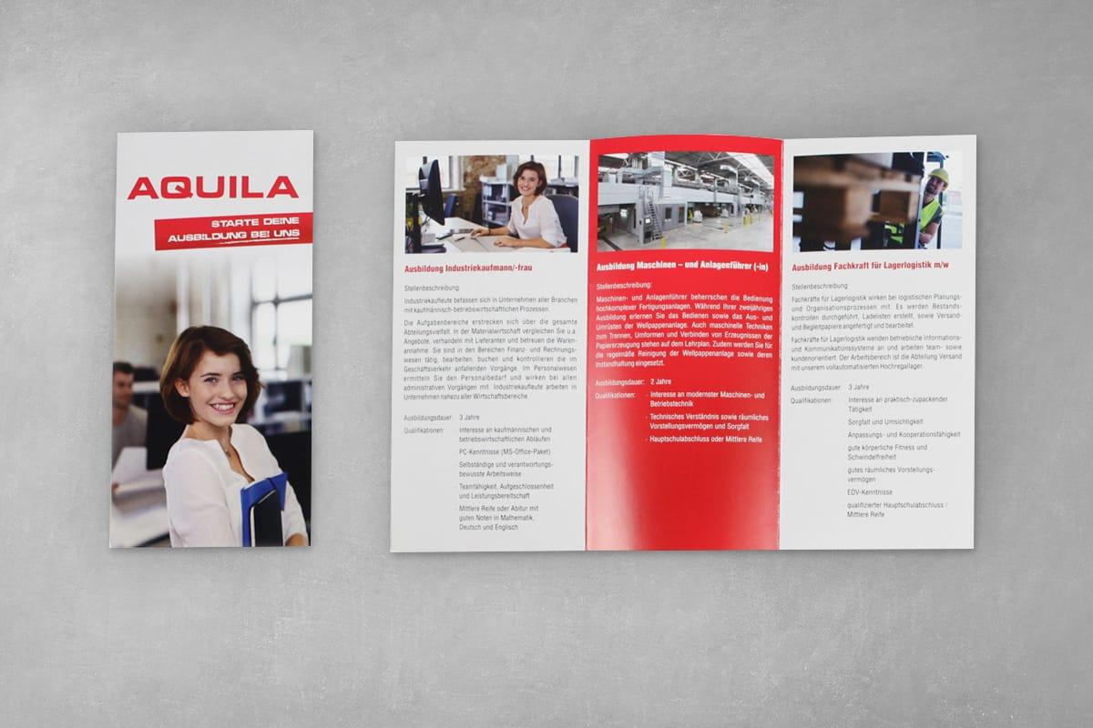 Firmenfolder Auqila