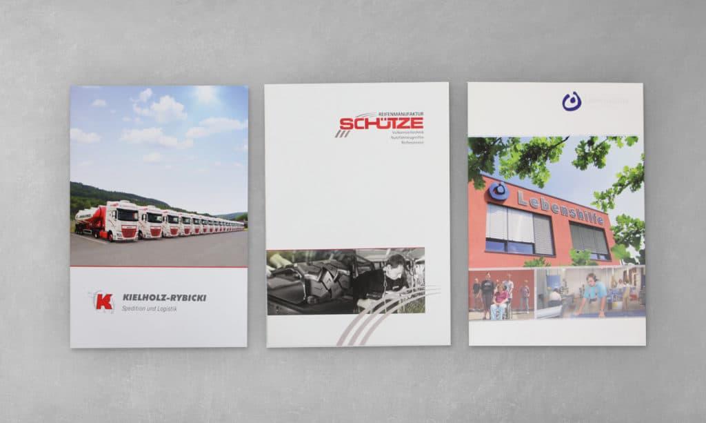 Layout Imagebroschüre, Satz & Layout, Fotografie