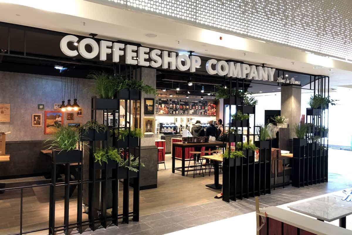 Leuchtbuchstaben Coffeeshop Company Gropiuspassagen Berlin 1