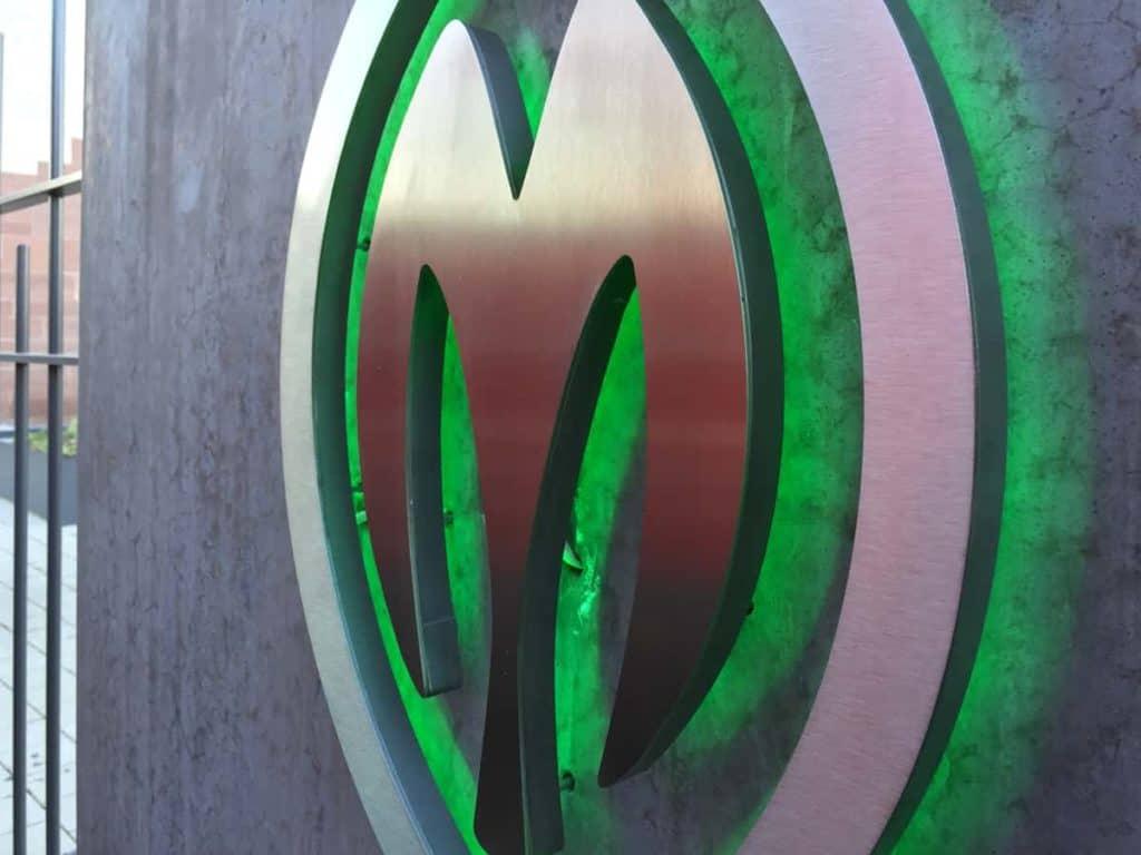 Lichtwerbung Leuchtbuchstaben MCZ Hohengandern
