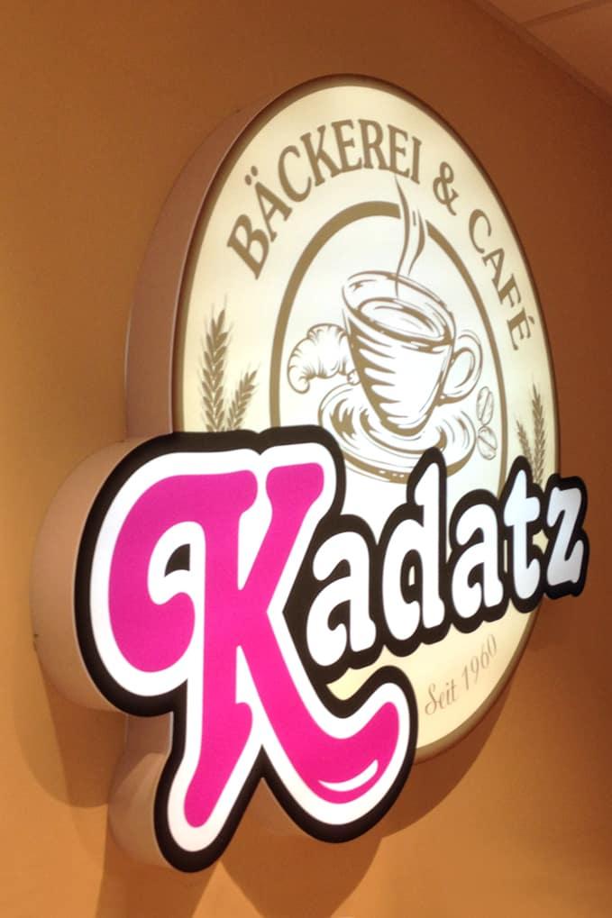 Leuchtkasten Bäckerei Kadatz