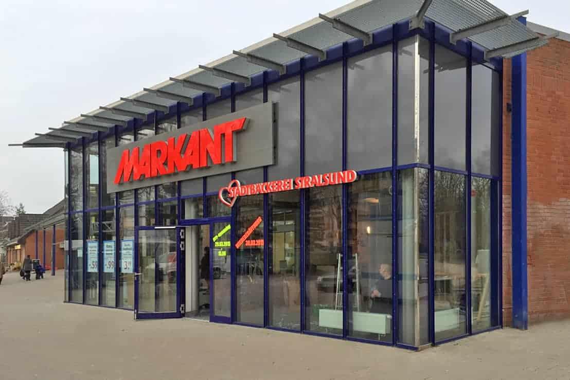 Lichtwerbung,der Stadtbäcker Stralsund Markant 2