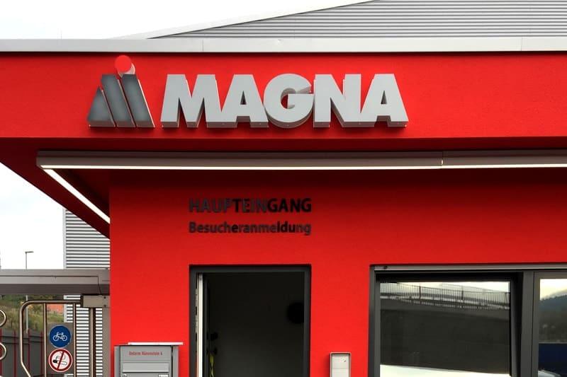 Lichtwerbung Leuchtbuchstaben Magna Heiligenstadt