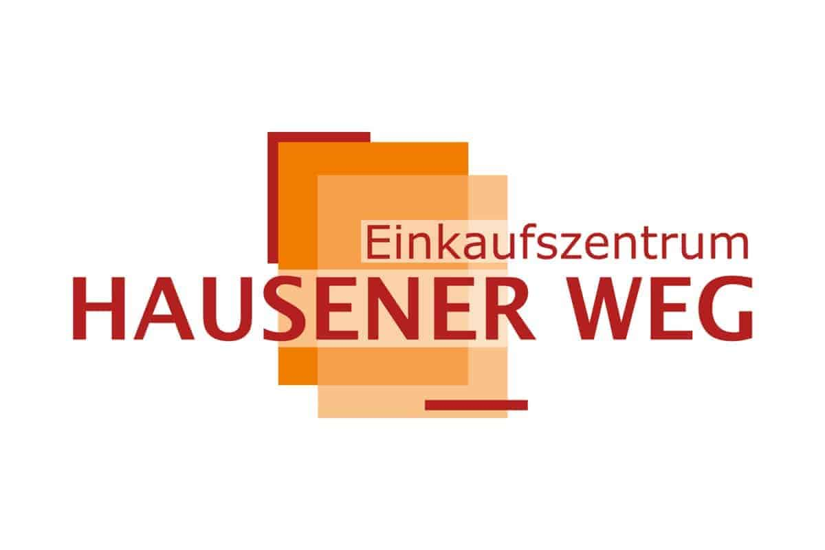 Logogetaltung Einkaufszentrum Hausener Weg