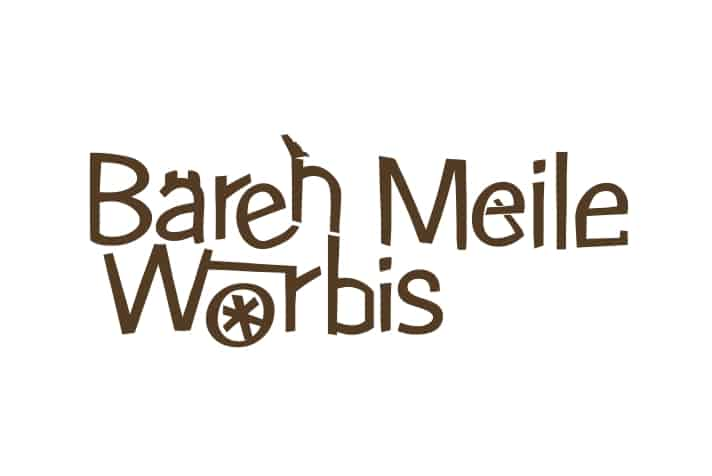 Logogestaltung für die Bärenmeile in Worbis