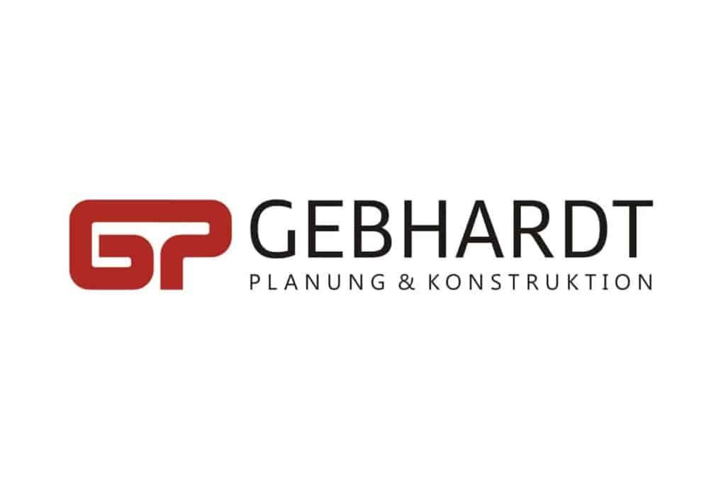 Logogetaltung Gebhardt Planung & Konstruktion