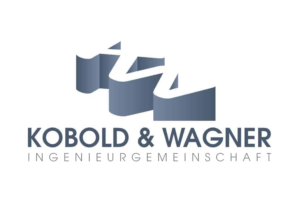Logogestaltung Kobold und Wagner Ingenieurgemeinschaft