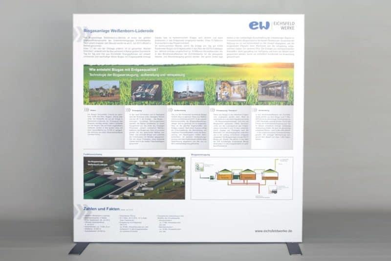 Messesysteme Trennwand Eichsfeldgas