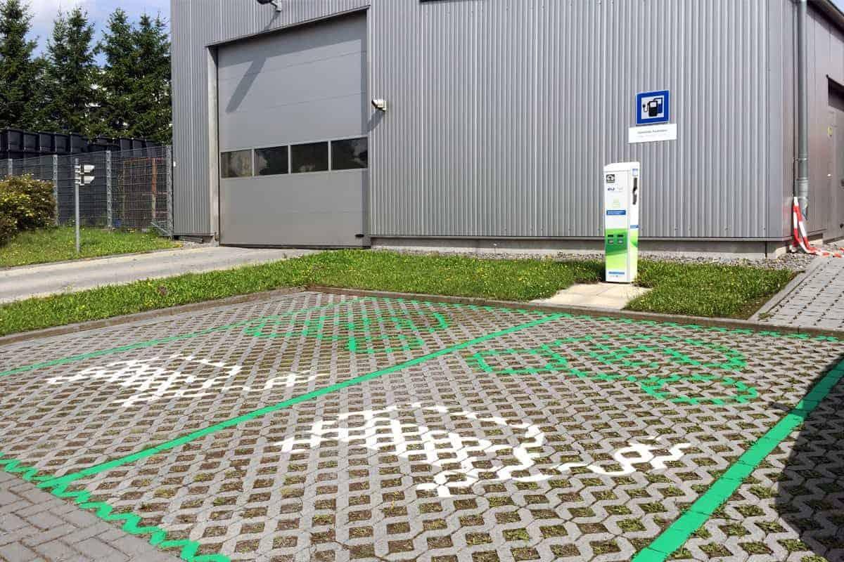 Parkplatzmarkierung Leinefelde 3