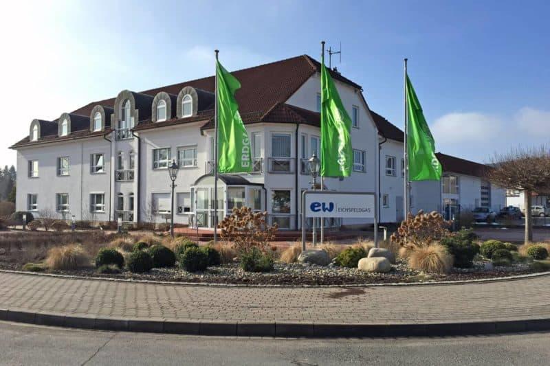 Informationsbeschilderung EW Eichsfeldgas GmbH Worbis