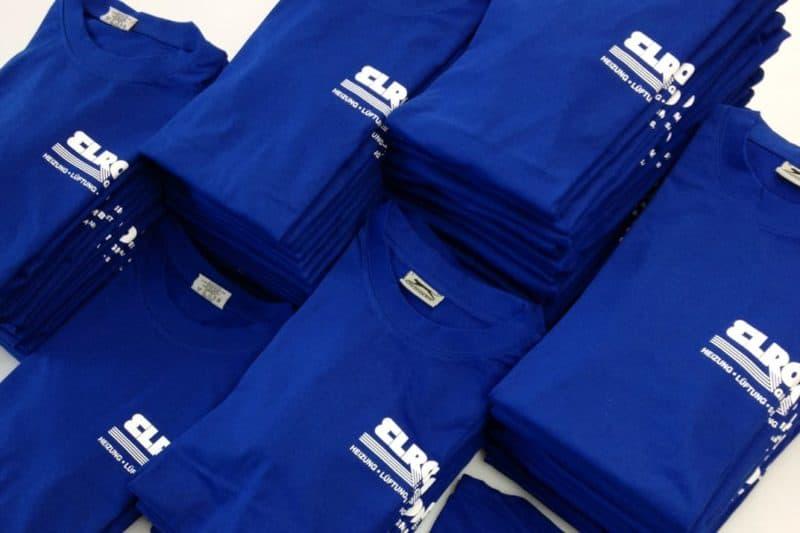 Textildruck Polos, Hemden, Shirts & mehr