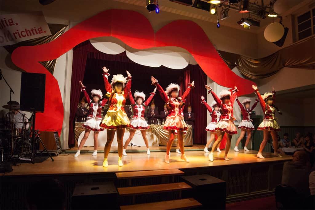 Veranstaltungsdekoration Kirchworbiser Karneval Club