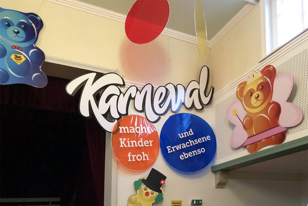 Veranstaltungsdekoration Karneval Kirchworbis