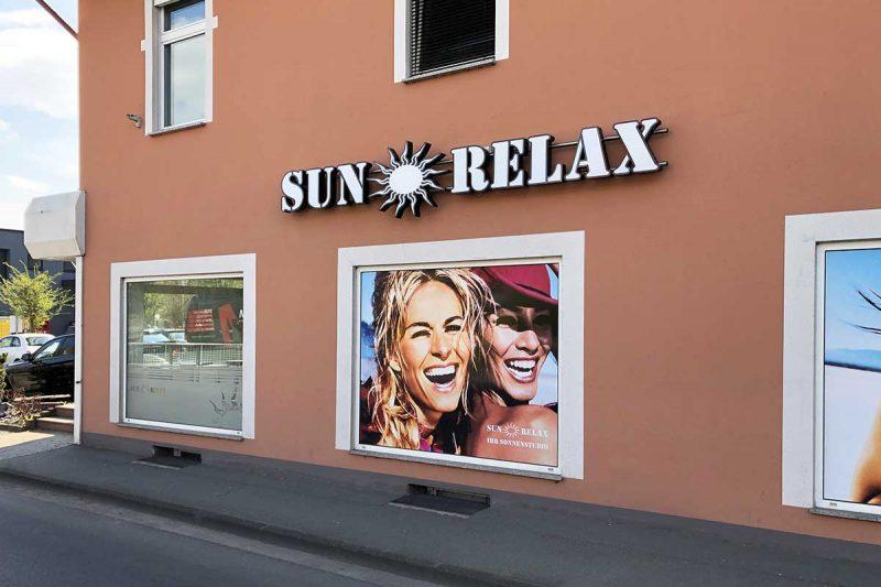 Profilbuchstaben 5.2 für Sun Relax in Duderstadt