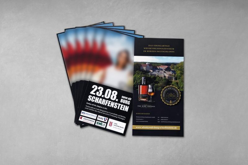 Layout Eventflyer Christina Stürmer