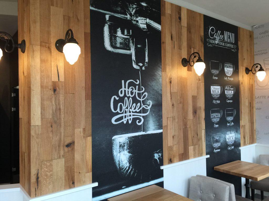 Wandgestaltung, Digitaldruck, Bäckerei, Der Bäcker Feihl, Karlshorst