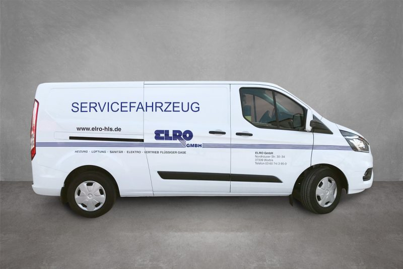 Verkehrsmittelwerbung Elro GmbH Worbis