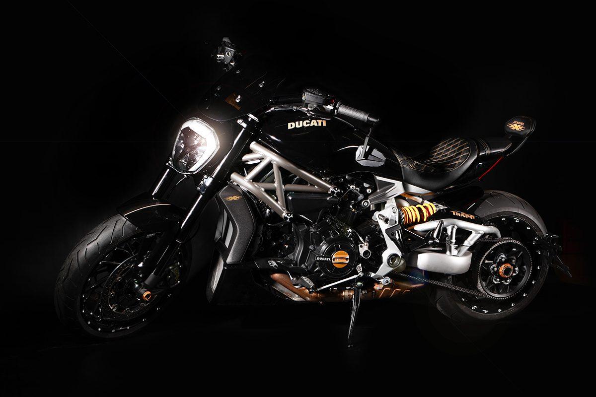 Fotografie Motorrad Trapp