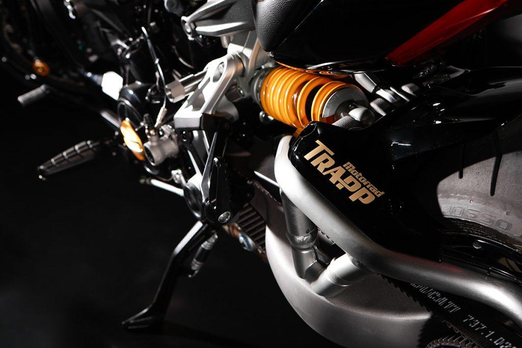 Fotografie Motorrad Trapp Worbis Verkehrsmittelwerbung