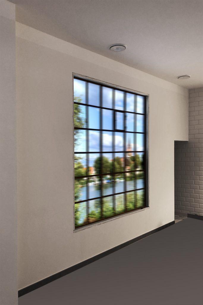 Werbetechnik Fleischerei Joppe, Fassadenwerbung, Folieverklebung
